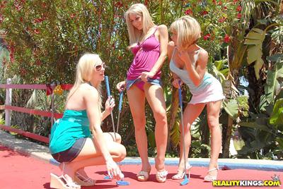 Nude lesbian girls acting naughty
