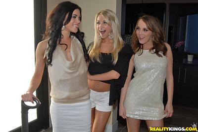 Hot lesbian girls behaving badly