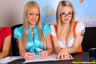 Lesbian girls in school